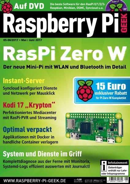 Download Raspberry Pi Geek – Mai-Juni 2017 - SoftArchive