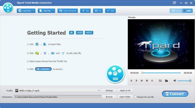 Tipard Total Media Converter v9.2.16 Multilingual + (Portable)