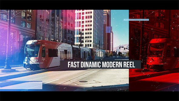 Fast Dinamic Modern Reel - Project for After Effects (Videohive)