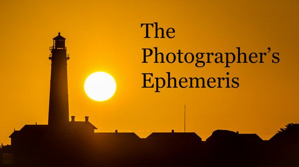 The Photographer's Ephemeris v1.5.2