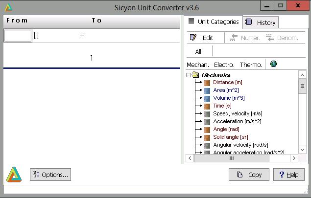 Dutch unit converter