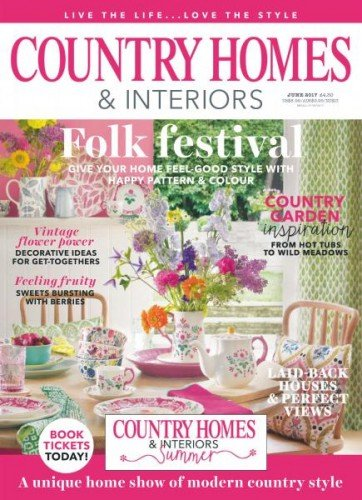 Country Homes & Interiors  June 2017