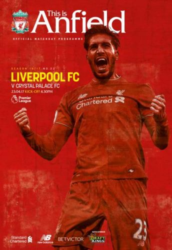 Liverpool FC v Crystal Palace FC - 23 April 2017