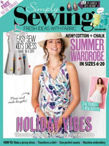 Simply Sewing - Issue 29 2017