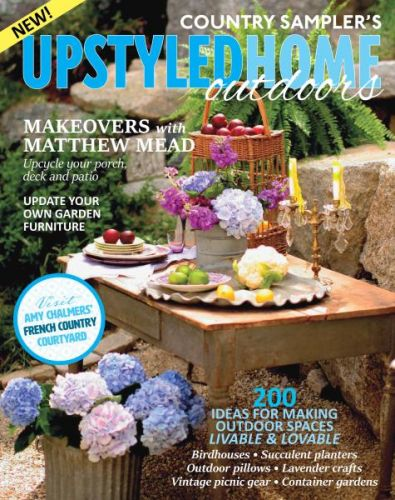 Country Sampler's Upstyled Home Outdoor - June 2017