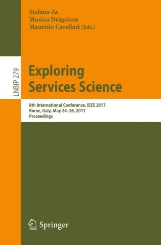 Exploring Services Science 2017