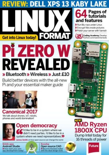 Linux Format UK - Issue 223 - May 2017