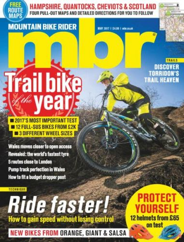 Mountain Bike Rider -- May 2017