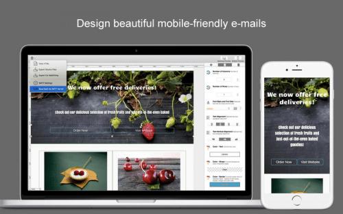Dragon Responsive E-mail Designer v2.49 macOS