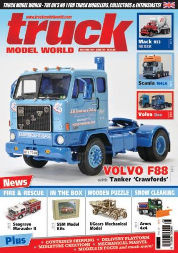 Truck Model World - Issue 231 - May-June 2017