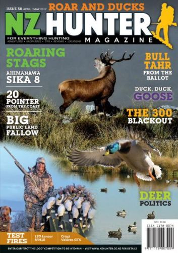 NZ Hunter - Issue 58 - April-May 2017