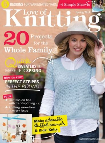 Love of Knitting - Spring 2017