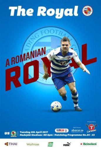 Reading FC v Blackburn Rovers - 4 April 2017