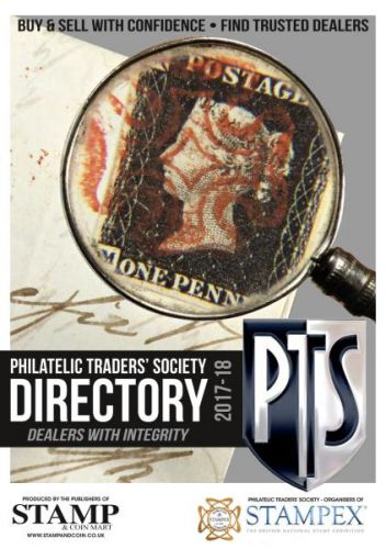 Stamp & Coin Mart - Philatelic Traders Society Directory 2017-2018