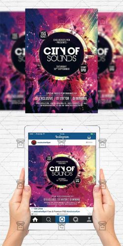 Flyer Template - City of Sound