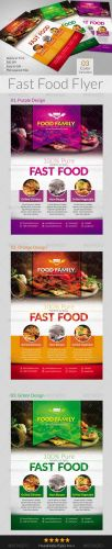 Fast Food Flyers 6550291