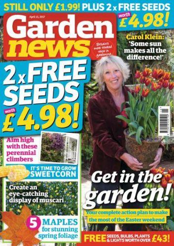 Garden News - April 15, 2017