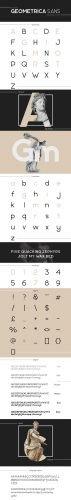 Geometrica Sans Typeface