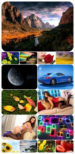 325 Beautiful Mixed Wallpapers
