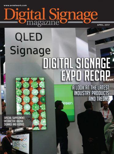Digital Signage April 2017