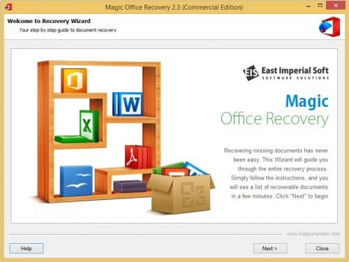 Magic Office Recovery 2.4 DC 11.04.2017 Multilingual + Portable