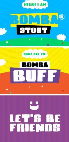 Bomba Stout - Creative Bold Cartoon Style Font
