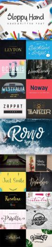 20 Sophisticated Fonts Collection For Designers