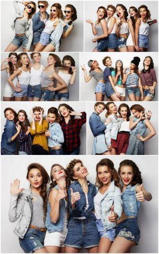 Stylish Sexy Girls - 7 UHQ JPEG Stock Images