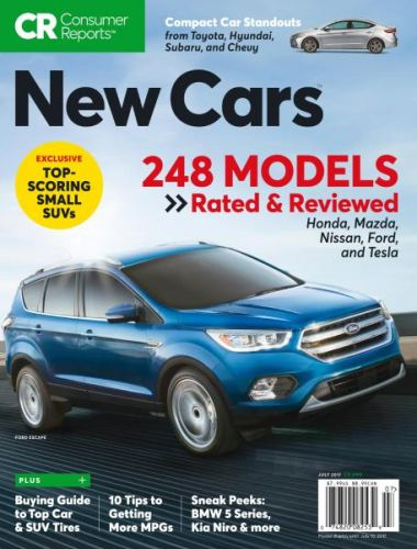 Consumer Reports New Cars - July 2017
