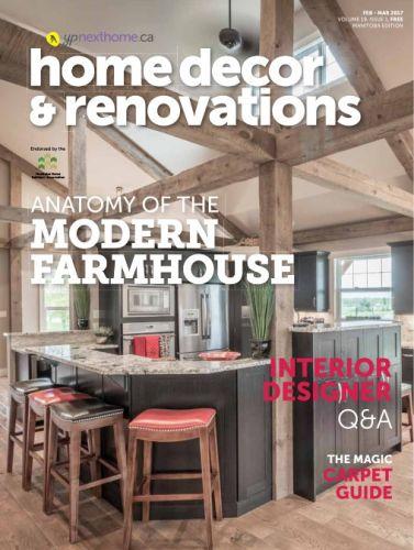 Manitoba Home Decor & Renovations - FebruaryMarch 2017