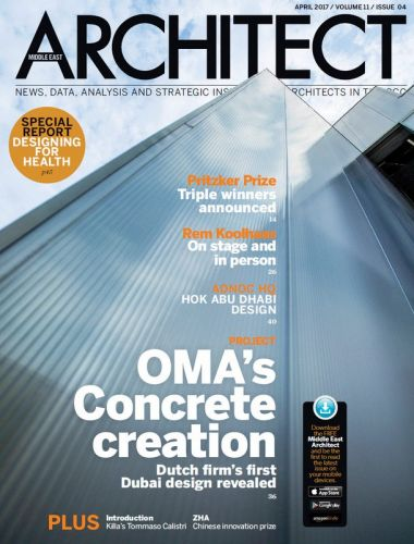 Architect Middle East -- April 2017