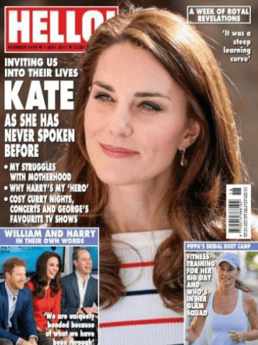 Hello! Magazine UK - Issue 1479 - 31 April 2017