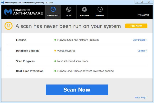 Portable Malwarebytes Anti-Malware Premium 2.2.1.1043 Rev3 DC 02.04.2017