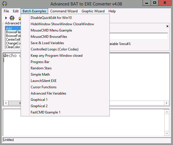 advanced batch converter portable