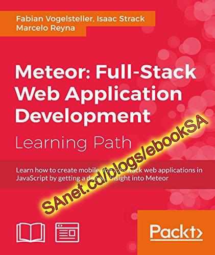 Meteor Full-Stack Web Application Development (True PDF)