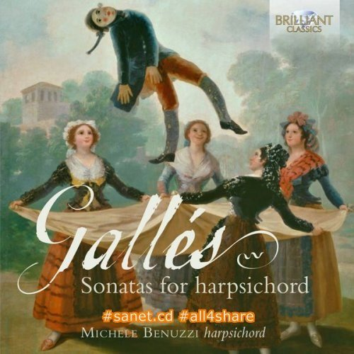 Michele Benuzzi - Galles Sonatas for Harpsichord (2016)