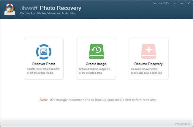 Jihosoft Photo Recovery 8.15