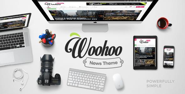 Wordpress - Woohoo v1.4.3 - Modish News, Magazine and Blog Theme