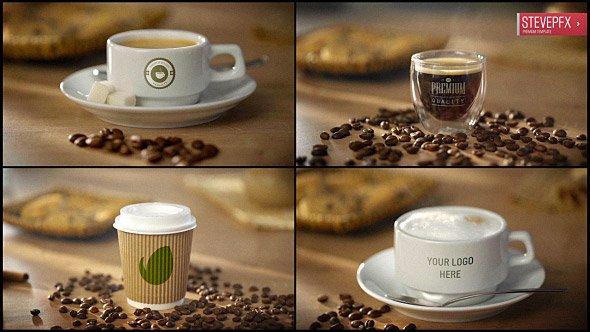Coffee AE Mockup | Espresso Americano Cappuccino Coffee to Go (Videohive/19771274)
