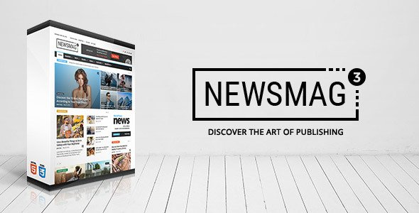 Themeforest: Newsmag v3.4 - News Magazine Newspaper for Wordpress - 9512331