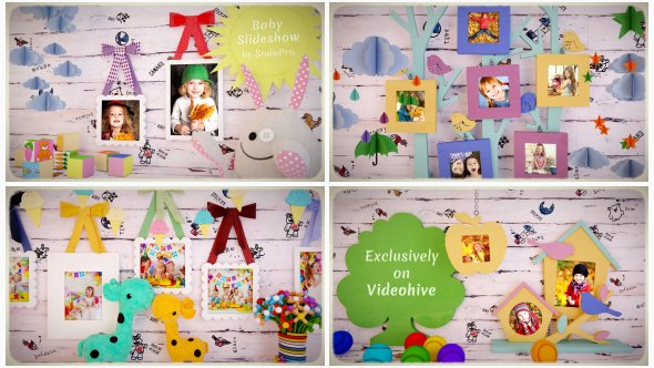 Baby Slideshow 19488048 - Project for After Effects (Videohive)