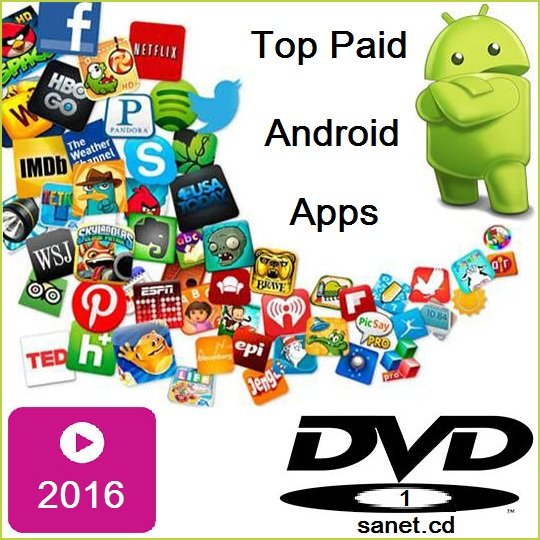 Top Paid Android Apps 2016 DVD1