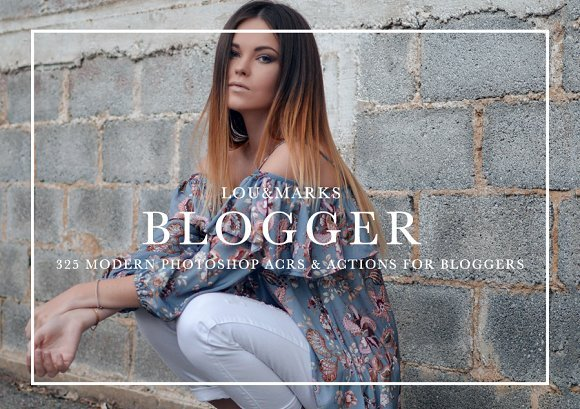 CreativeMarket - 325+ Blogger Photoshop Bundle