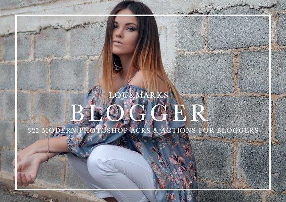 CreativeMarket - 325+ Blogger Photoshop Bundle