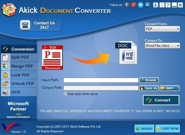 Akick Document Converter 2.0