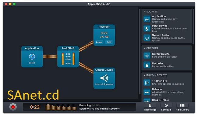 Rogue Amoeba Audio Hijack 3.3.4 macOS