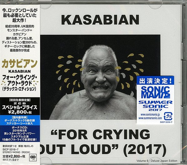 Kasabian - For Crying Out Loud (Japan Deluxe Edition) (2017) FLAC