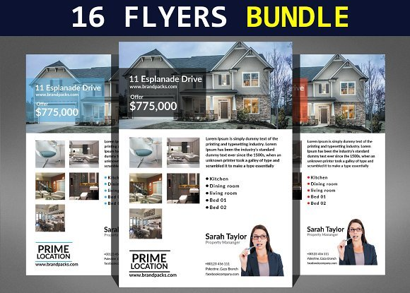 CreativeMarket - 16 Business Flyers Bundle