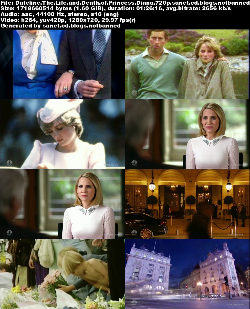 the life and death of princess diana