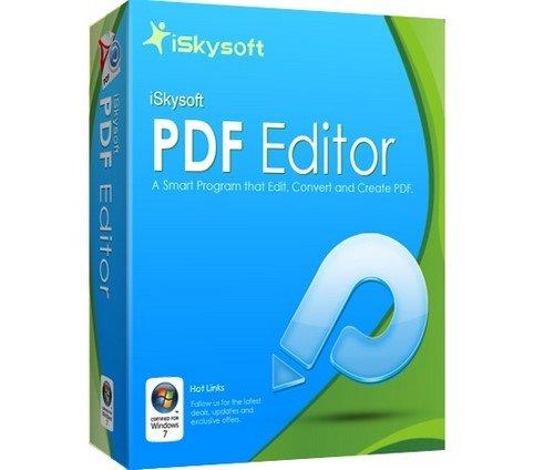 iSkysoft PDF Editor Professional 6.2.0.2604 Multilingual + (Portable)